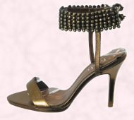 Accessory Shoe 2 - TRIBE Range - Stud ankle strap style Lante �60 - Faith Footwear.